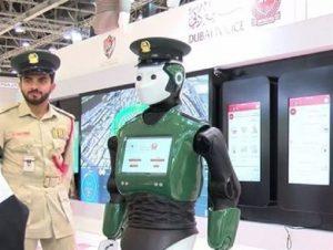 ربات پلیس دبی